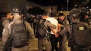 East Jerusalem: Police clash with Palestinian worshippers amidst ongoing tensions by Damascus Gate