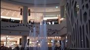 Страхотен увеселителен фонтан в Южна Корея.
