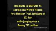 Monster Truck Jump - Рекорд На Гинес