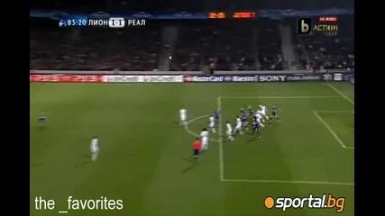 Реал отново се препъна (real Madrid 1:1lyon )
