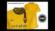 Top 10 football kits
