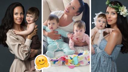Близнаците на Теди Бургазлиева - с фотосесия! Ето какво каза миската за тях!
