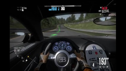 New Need for speed shift-bugatti veyron