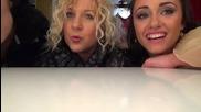 Dancing stars - Албена и Михаела зад кадър - 20.03.2014 г.