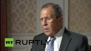 """Russia: Lavrov calls on West to """"swallow pride"""" and fight """"terrorism"""""""