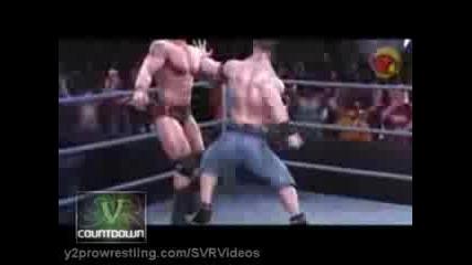 Smackdown Vs. Raw 2009: John Cena Vs Orton