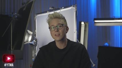 Tyler Oakley Hosts the Youtube Music Awards 2015 - Part 2