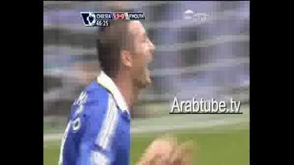Chelsea Vs Portsmouth - Lampard Goal Duspa