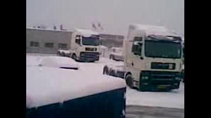 Сняг в Греве Ким Йохансен