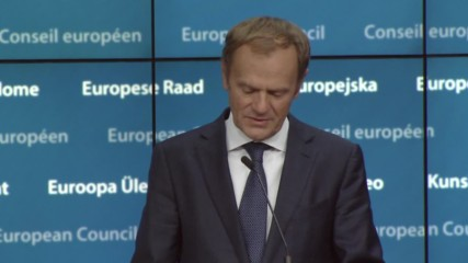 Belgium: 'Russia's strategy is to weaken the EU' - Tusk calls for unity against Moscow