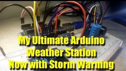 Arduino Basics: Weather Station 2nd upgrade