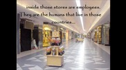 Alien Humankind - the experiment - part 21 - appendix 3 - the Shopping Mall corridor