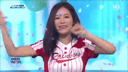 Rainbow - Sunshine @ S B S Inkigayo Googbye Stage [ 30.06. 2013 ] H D