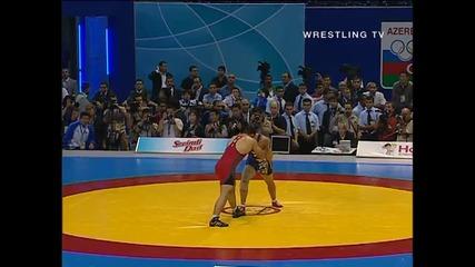 Световно по Борба 2007 Кб - 96кг Rezaei (iri) vs Kato (jpn)