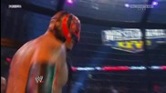 [hq] Wwe El. Chamber 2011: Elimination Chamber Match For The World Heavyweight Champions {част 2/5}