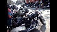 Armenian motobikers Plovdiv, 22 March 2012
