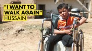 A Syrian boy's story after a landmine explosion