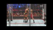 Wwe Extreme Rules 2013 Triple H Vs Brock Lesnar Steel Cage Match The Last Part 2