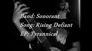 Sonorant - Rising Defiant (feat. Jordan Miles)
