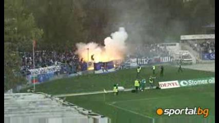 Най - добрите моменти от дербито в Ловеч
