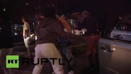 Полицейски час по време на Първомайските протести в Балтимор