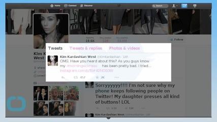 How Kim Kardashian Got Rid of Her Morning Sickness