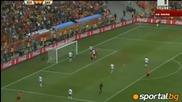 Холандия 2 - 0 Дания - групова фаза