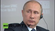 """Russia: """"Unilateral"""" sanctions on Russia hurting global economy - Modi"""