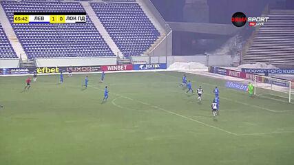 Левски - Локомотив Пд 1:0 /репортаж/