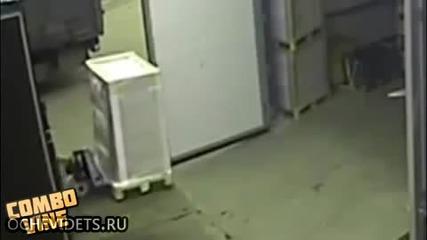 Скок с палетна количка