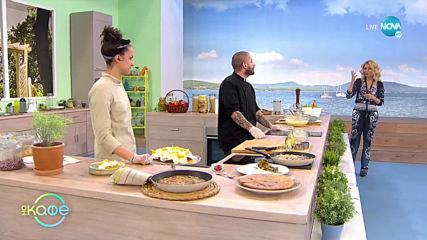 """Рецептата днес: Пляска с магданоз и пресен лук, картофи и портокалов кекс - """"На кафе"""" (07.04.2020)"""