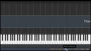 Лесен урок по пиано David Guetta ft. Sia - Titanium