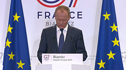 France: Tusk hopes 'common solutions' will trump 'senseless disputes' at G7