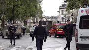 France: Police cordon off stabbing attack scene near former Charlie Hebdo office
