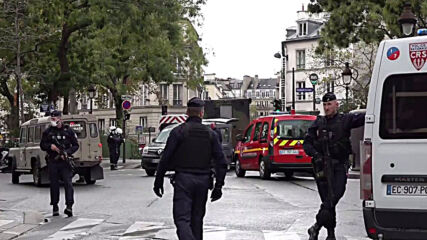 France: Police cordon off stabbing attack scene near former Charlie Hebdo office
