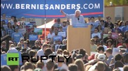 """USA: Sanders promises """"political revolution"""" at University of Colorado rally"""