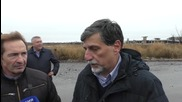 Ukraine: Italian politicians witness impact of conflict, damage in Donetsk