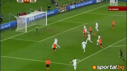 Холандия - Словакия 2:1