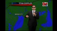 The Rapping Weathermans fourth weather rap