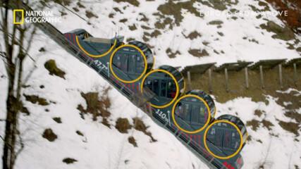 Най-стръмният фуникулер в света | Европа отвисоко | сезон 3 | National Geographic Bulgaria