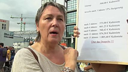 Germany: Berliners protest world's fastest rising rents
