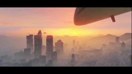 G T A 5 Официален Трейлър ( Grand Theft Auto V )