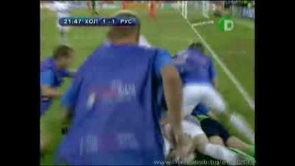 Русия - Холандия - 3:1 - Торбински