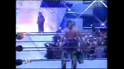 Undertaker scaring John Cena