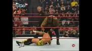 Kane & Cm Punk Vs Mark Henry (BG Audio)