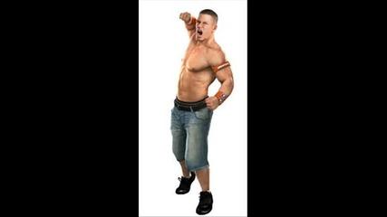 Jeff Hardy and John Cena