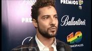 David Bisbal Entrevista / Premios 40 Principales 2014