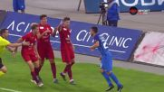 Станислав Костов си изкара червен картон в края на мача с Вадуц