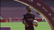 Представянето на Арда Туран като футболист на Барселона
