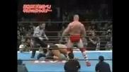 Brock Lesnar vs Manabu Nakanishi